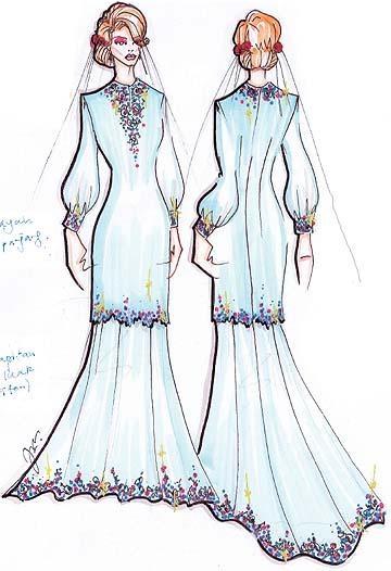 Design Baju Nikah