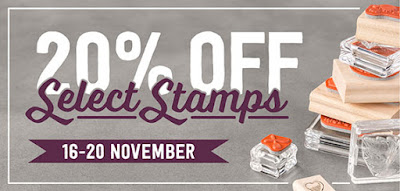 Save 20% on 17 Amazing Stamp Sets 16-20 Nov 2015 Only