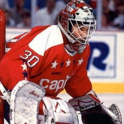 Jim Carey wasn't a Capitals goalie until 1995, but a Caps fan asked me to include him…