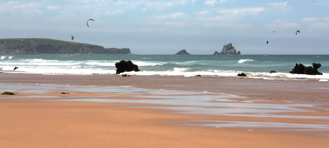 Playa nudista Valdearenas (Cantabria)