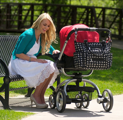 let 39 s eat be messy jj cole caprice diaper bag thrifty nifty mommy. Black Bedroom Furniture Sets. Home Design Ideas