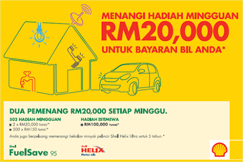'Shell Pays Your Utility Bills' Contest