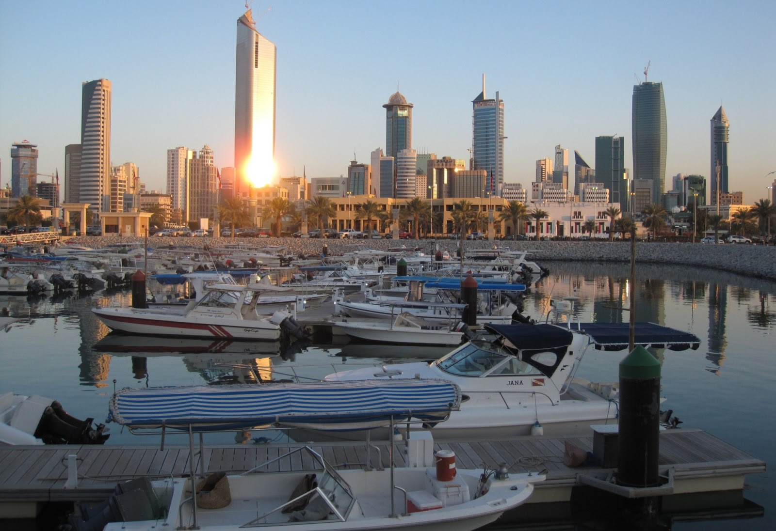 modern middle east kuwait Liberation tower   kuwait (by mohammad awadh).