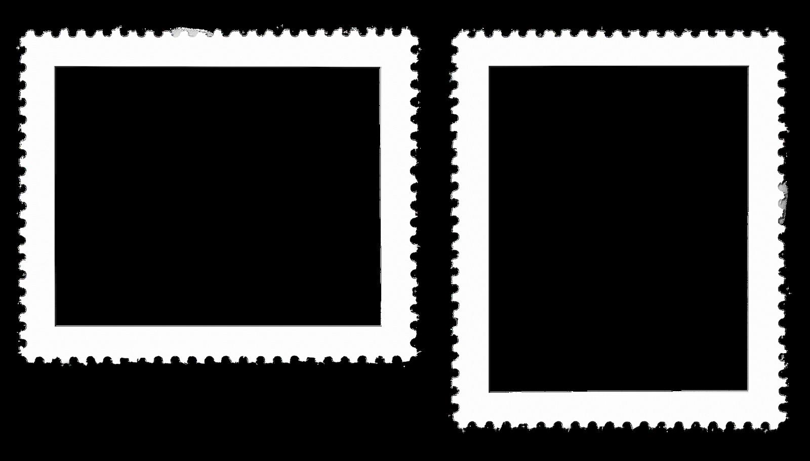 Postage Stamp Border Html Template Ebay   Wedding Photo