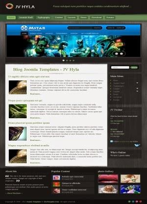 Share template JV Hyla - Joomla 2.5