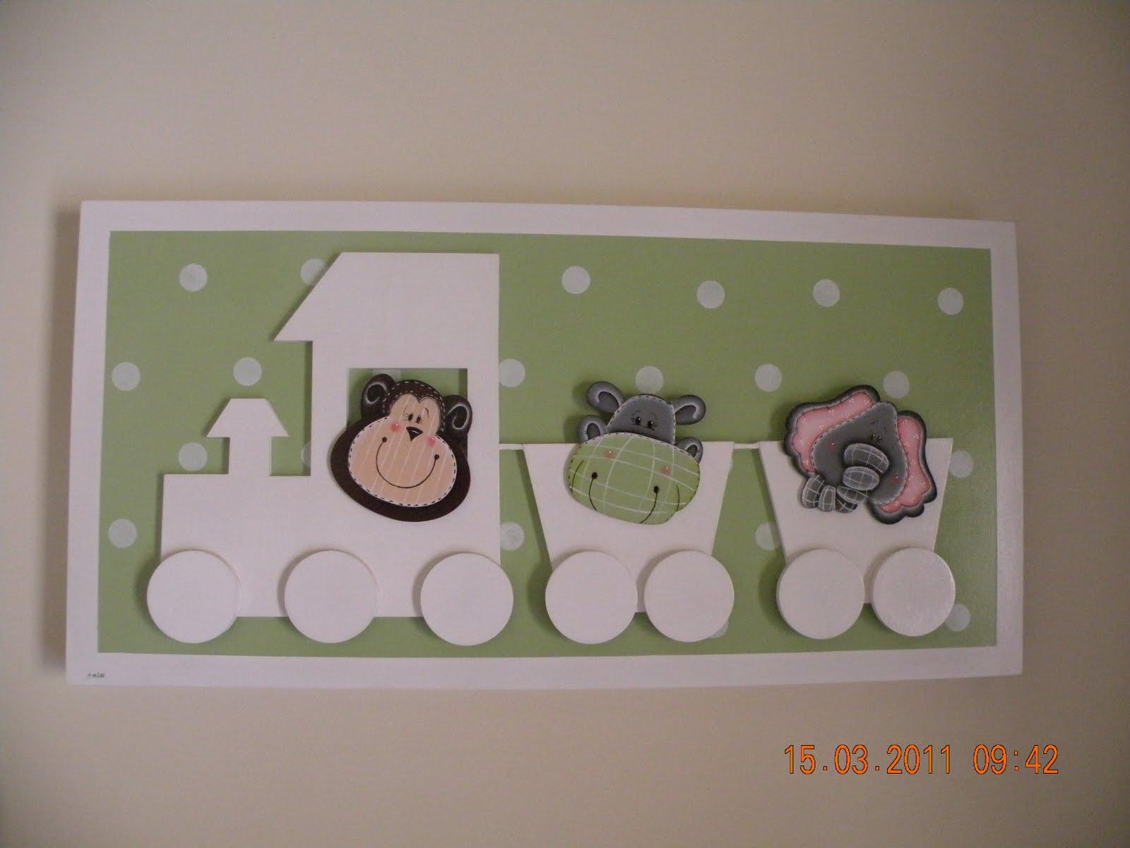 Quarto De Bebe Decorado Com Safari ~   feitas para o quarto do meu netinho Bernardo! Com o tema Safari