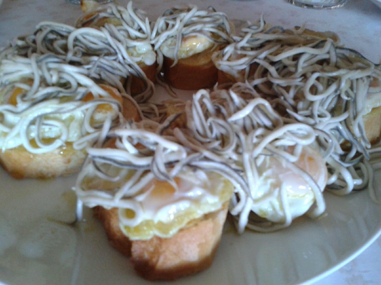 recetas de pinchos con gulas