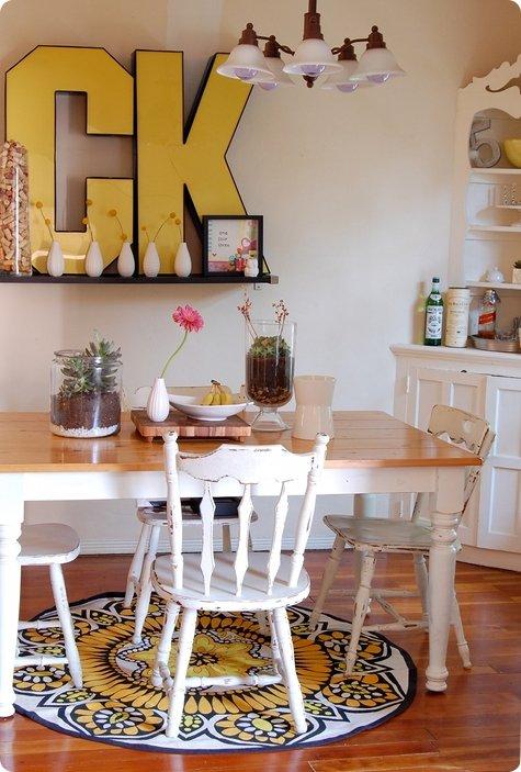 Amazing Luscious Home Diy Art Kitchen Letters