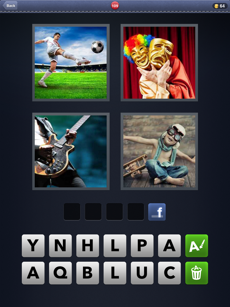 4 pics one word game