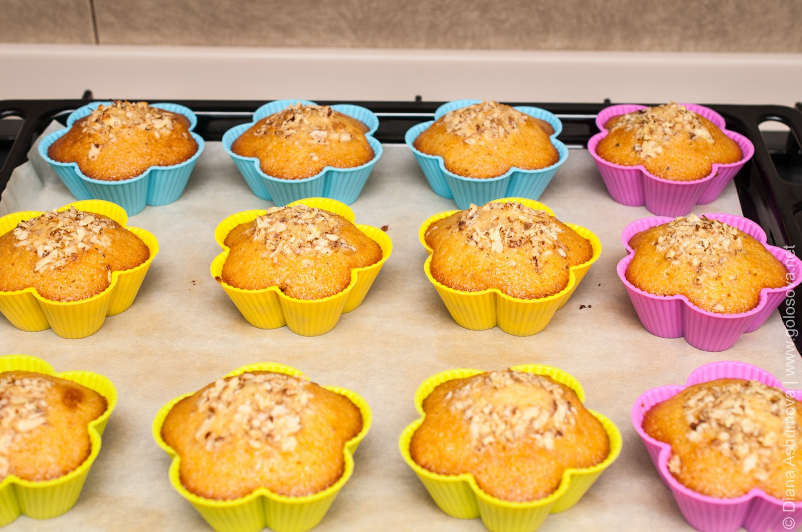 Простые рецепты кексов в домашних условиях в силиконовых формочках