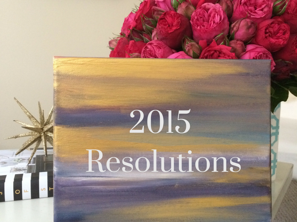 Goas, New Year, Resolutions, 2015, Project Soiree