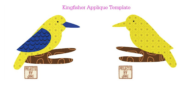 http://shopprojectsbyjane.blogspot.sg/2016/01/kingfisher-applique-template.html