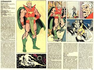 Extraño (ficha marvel comics)