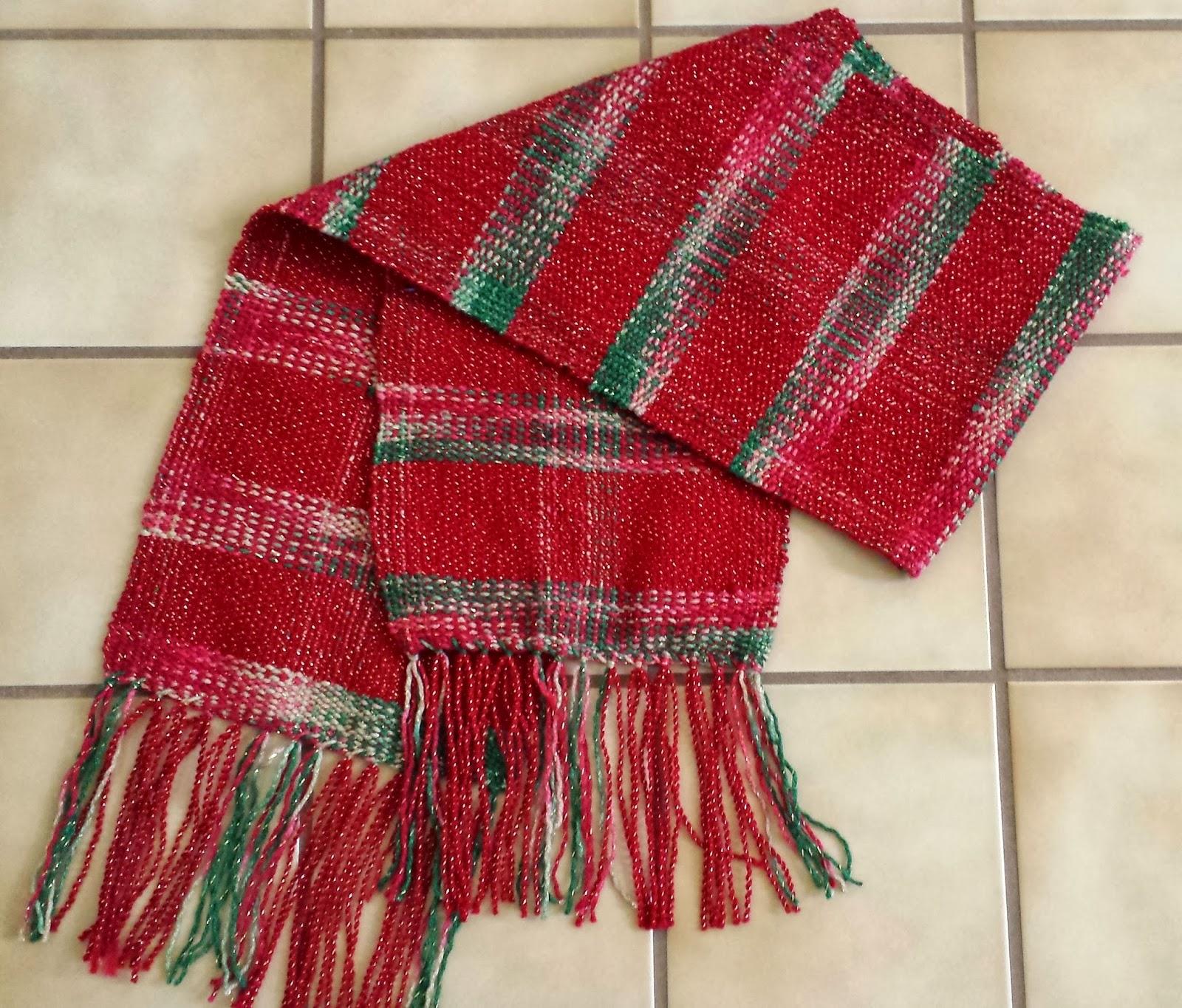 With caron victorian christmas yarn and bernat antique christmas yarn