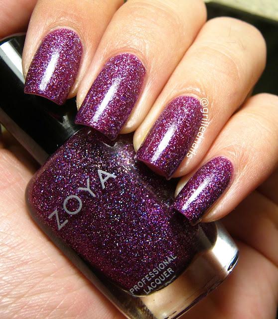 Zoya nail polish aurora swatch