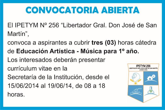 ESPACIO PUBLICITARIO : IPETYM 256