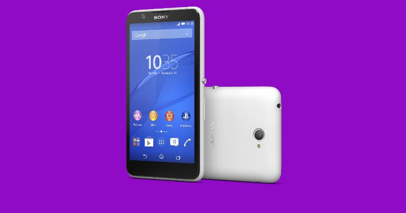 سوني تكشف عن هاتفها الجديد Xperia E4