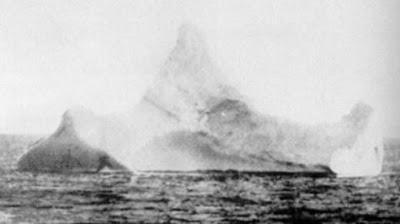 2 Foto Asli Gunung Es Yang Ditabrak TITANIC Dan Penampakan Terbaru TITANIC D