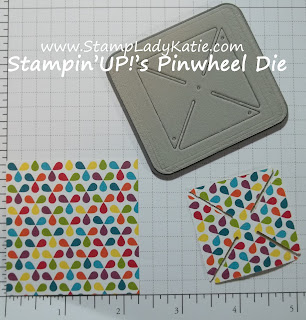 Stampin'UP!'s Pinwheel Sizzlet Die