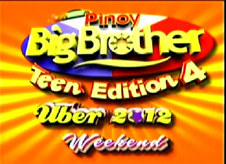 PINOY BIGBROTHER TEEN EDITION 4 WEEKEND (UBER) - JUN 09, 2012 PART 1/3