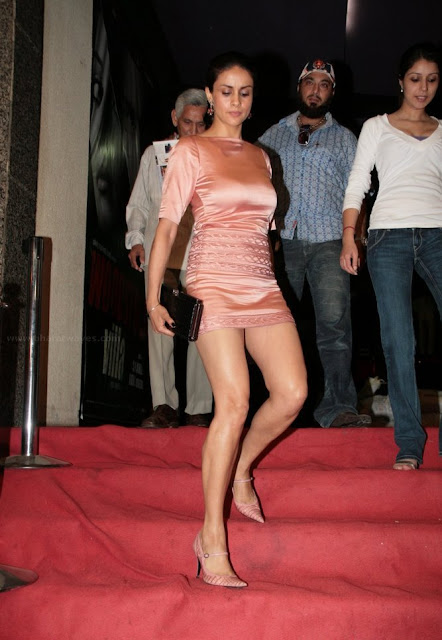 Gul Panag exposed thighs