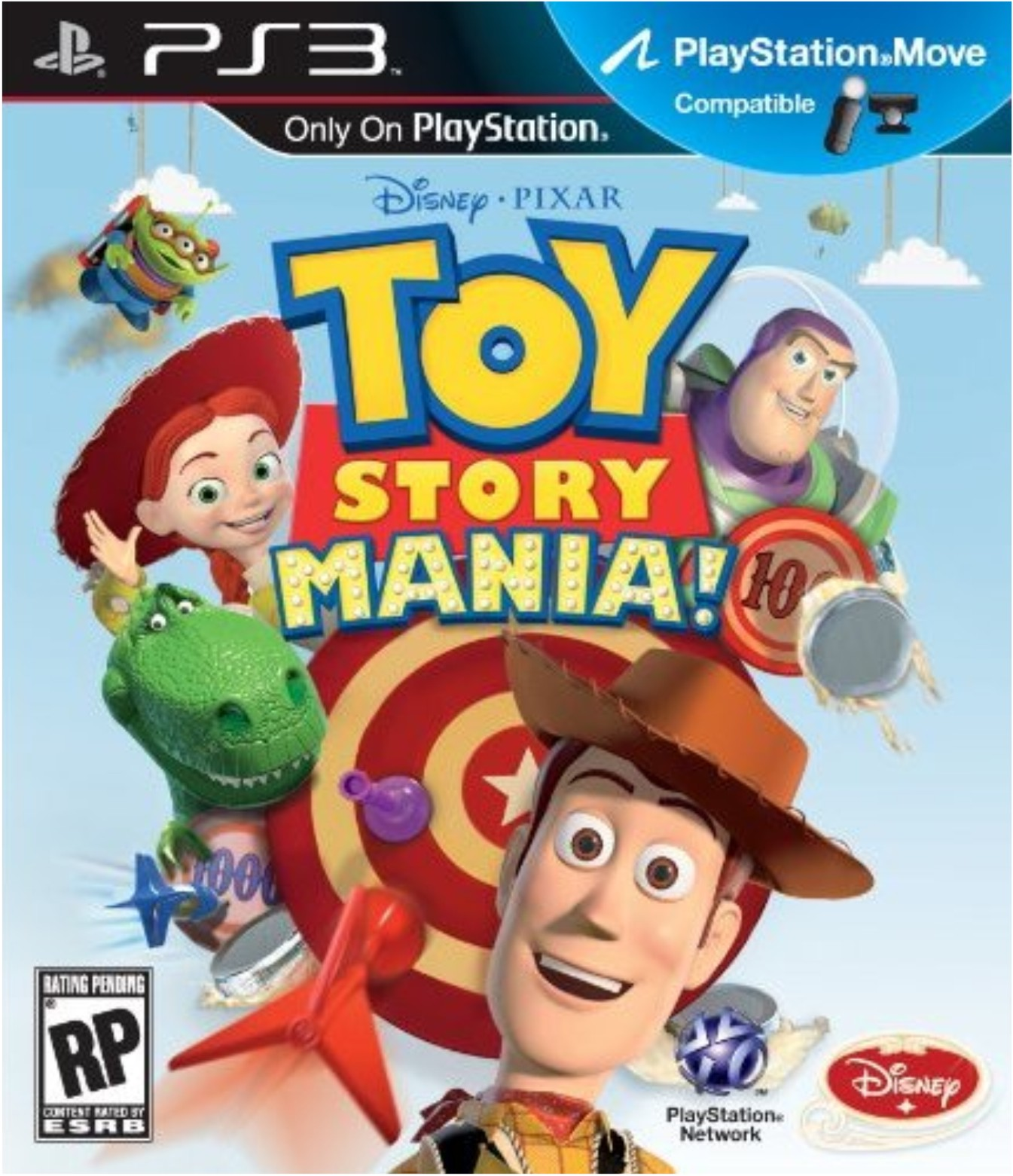 Toy Story 4 2012 : Toy story mania cfw ps iso games