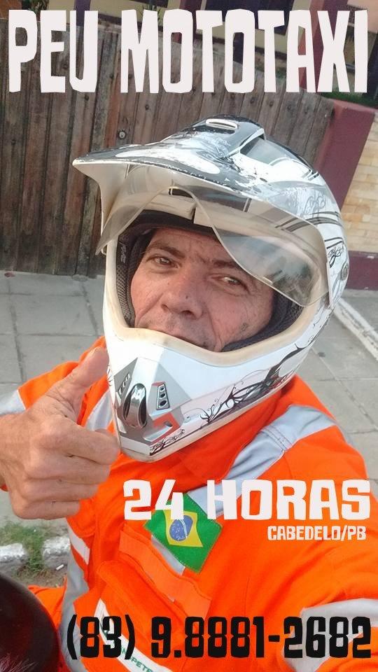 PEU MOTOTAXI - CABEDELO/PB