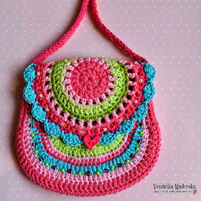 San Francisco crochet bag