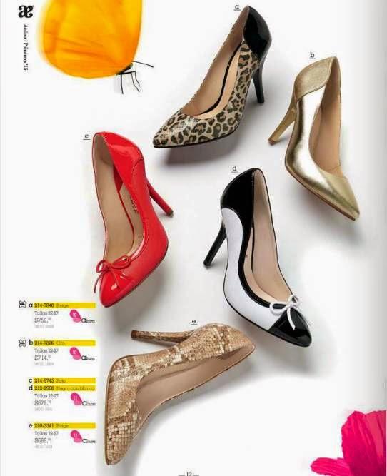 Elegantes zapatos toda ocasion Andrea P-15