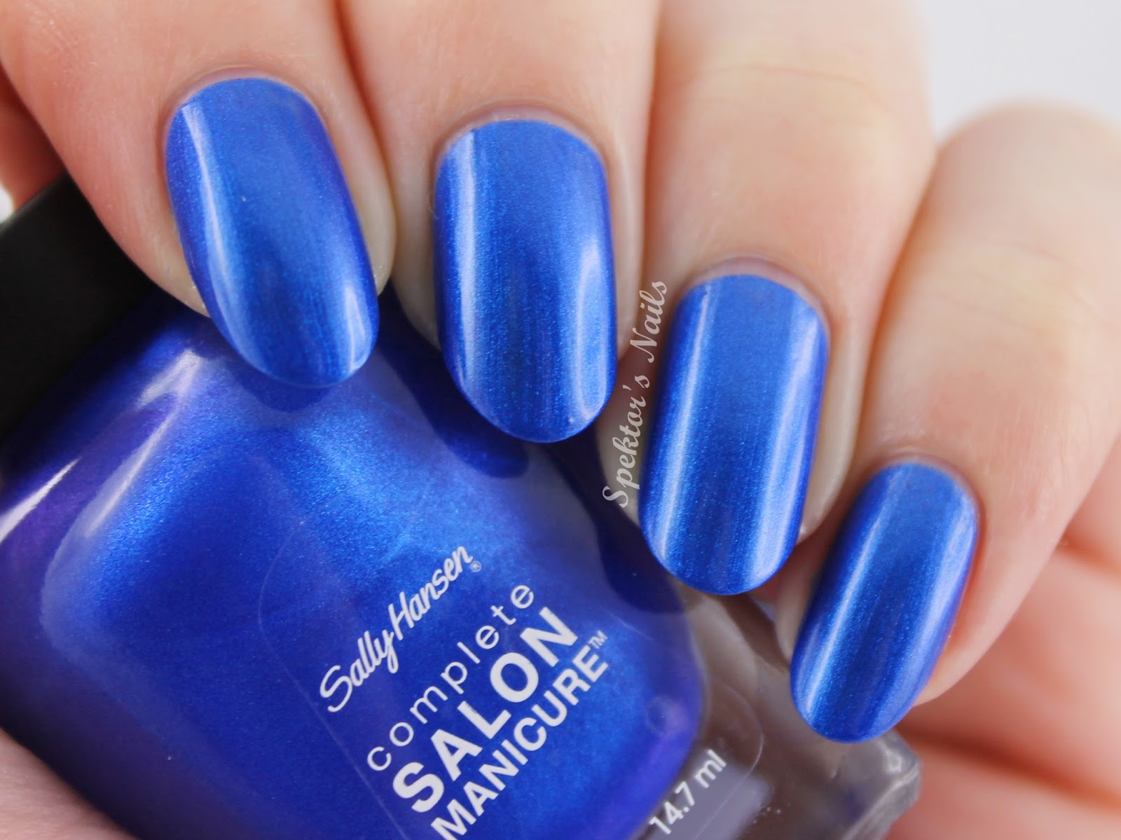 Sally Hansen - Designer Collection 2014 Batbano Blue