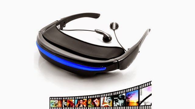 Gafas Virtuales con Reproductor de Video