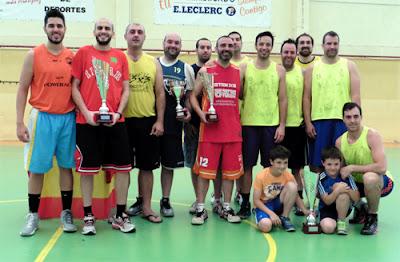 Liga Local de Baloncesto de Aranjuez trofeos