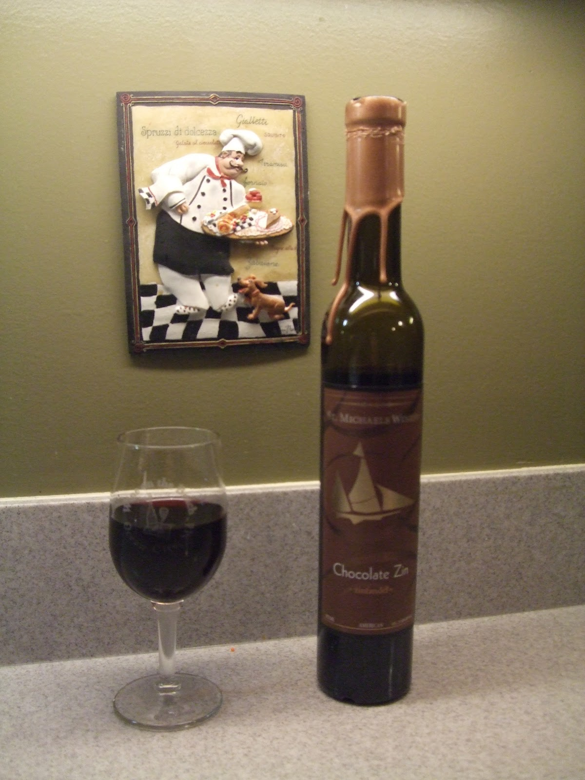 Tales Of Two Cities: Chocolate Wine