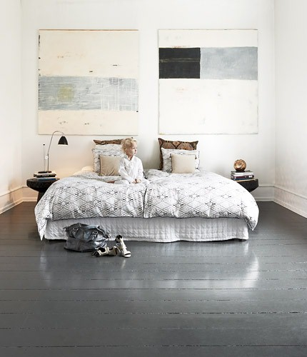 Naja Munthe's contemporary styled bedroom