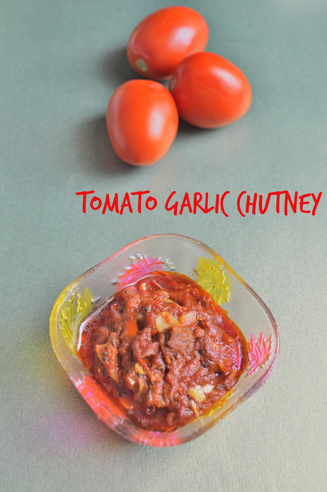 easy tomato chutney without onions