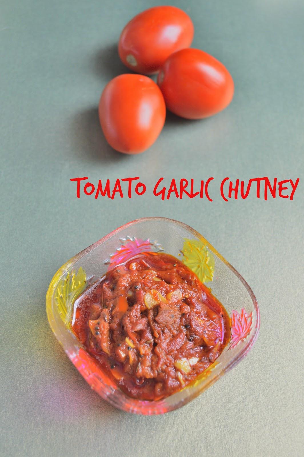 easy tomato chutney without onions