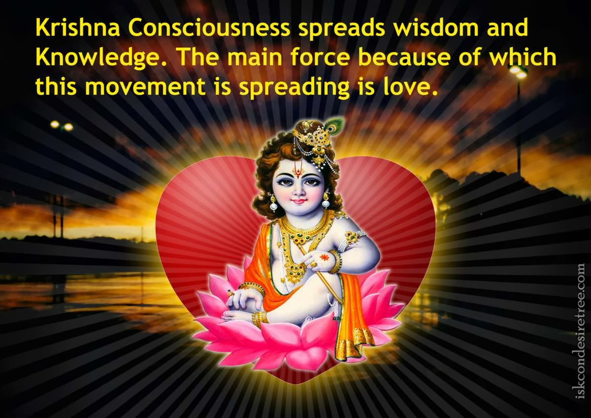 Development of Christ- or Krishna-Consciousness, an invitation for all of humanity