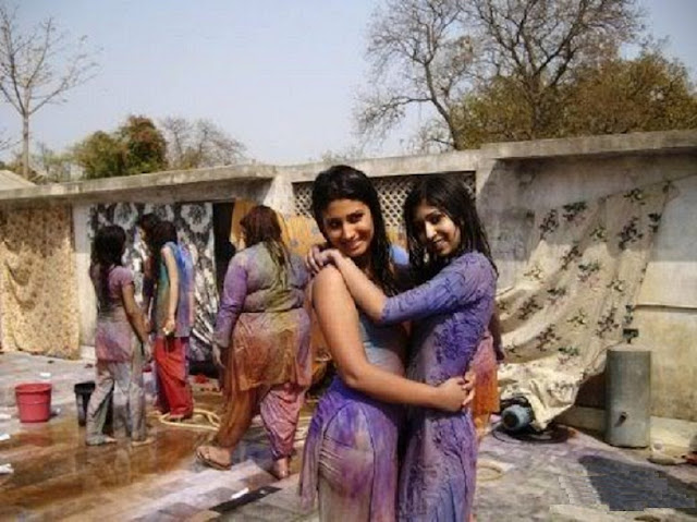 Holi real girl naked farrel