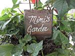 Slate garden marker