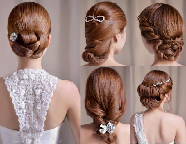 Wedding hair styles for ladies