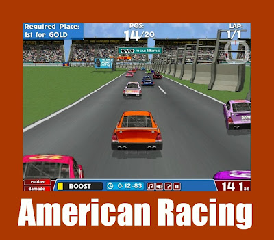 american racing- jogo de navegador de corrida