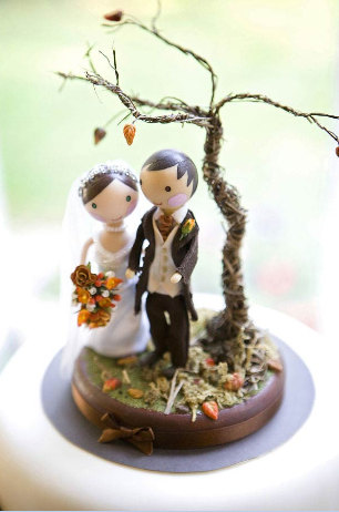 bride and groom cake toppers uk