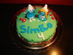 Bolo - Smurfs
