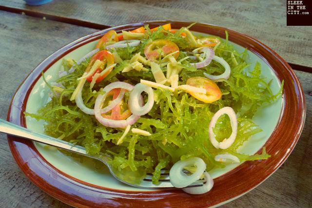 camiguin mantigue island guso salad
