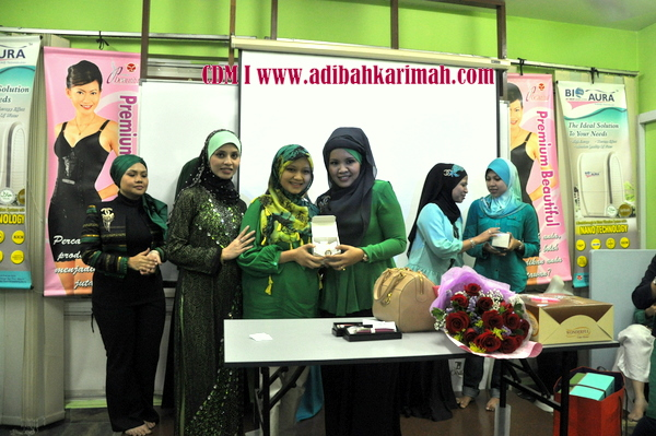 CDM Adibah Karimah celebration at B32 stockist, a new cdm in premium beautiful business