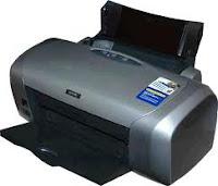 Lampu Printer Epson R230 Berkedip Bergantian