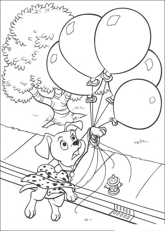 coloriage dessin dalmatien