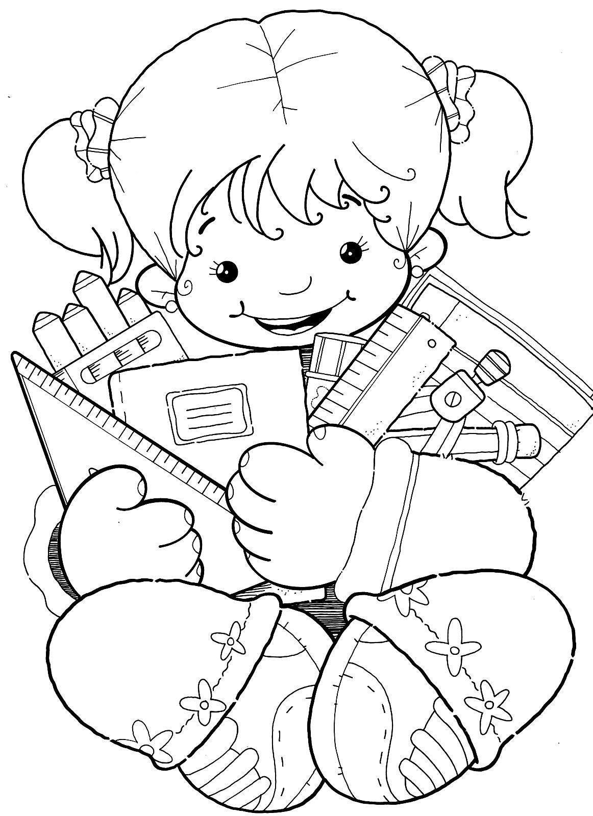 De Desenhos De Meninas Para Imprimir E Colorir  Esses Desenhos