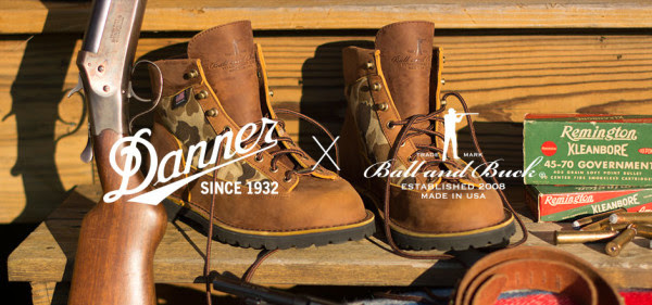 Ball and Buck X Danner Light boot