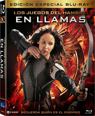 The Hunger Games Catching Fire (2013) 720p BDRip Dual Espa�ol Latino-Ingl�s